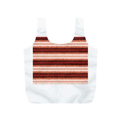 Horizontal Native American Curly Stripes   1 Reusable Bag (s)