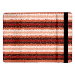 Horizontal Native American Curly Stripes - 1 Samsung Galaxy Tab Pro 12.2  Flip Case