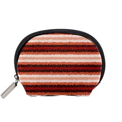 Horizontal Native American Curly Stripes   1 Accessory Pouch (small)