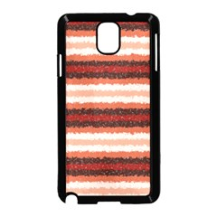 Horizontal Native American Curly Stripes   1 Samsung Galaxy Note 3 Neo Hardshell Case (black)