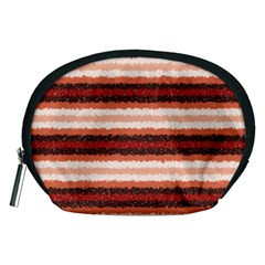 Horizontal Native American Curly Stripes   1 Accessory Pouch (medium)
