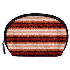 Horizontal Native American Curly Stripes   1 Accessory Pouch (large)
