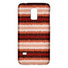 Horizontal Native American Curly Stripes - 1 Samsung Galaxy S5 Mini Hardshell Case