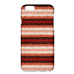 Horizontal Native American Curly Stripes   1 Apple Iphone 6 Plus Hardshell Case