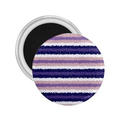 Horizontal Native American Curly Stripes   2 2 25  Button Magnet