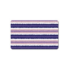 Horizontal Native American Curly Stripes   2 Magnet (name Card)