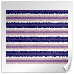 Horizontal Native American Curly Stripes   2 Canvas 16  X 16  (unframed)