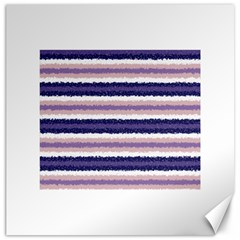 Horizontal Native American Curly Stripes - 2 Canvas 20  x 20  (Unframed)