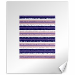 Horizontal Native American Curly Stripes - 2 Canvas 20  x 24  (Unframed)