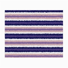 Horizontal Native American Curly Stripes   2 Glasses Cloth (small, Two Sided)