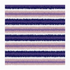 Horizontal Native American Curly Stripes - 2 Glasses Cloth (Medium, Two Sided)