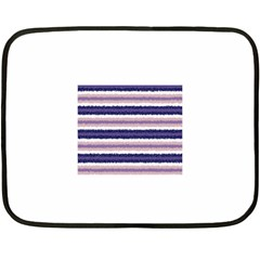 Horizontal Native American Curly Stripes   2 Mini Fleece Blanket (two Sided)