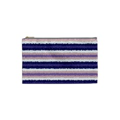 Horizontal Native American Curly Stripes   2 Cosmetic Bag (small)