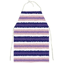 Horizontal Native American Curly Stripes - 2 Apron