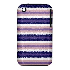 Horizontal Native American Curly Stripes   2 Apple Iphone 3g/3gs Hardshell Case (pc+silicone)