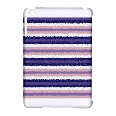 Horizontal Native American Curly Stripes - 2 Apple iPad Mini Hardshell Case (Compatible with Smart Cover)