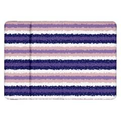 Horizontal Native American Curly Stripes - 2 Samsung Galaxy Tab 8.9  P7300 Flip Case