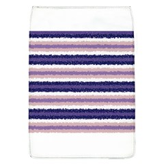 Horizontal Native American Curly Stripes   2 Removable Flap Cover (large)