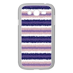 Horizontal Native American Curly Stripes   2 Samsung Galaxy Grand Duos I9082 Case (white)