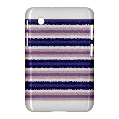 Horizontal Native American Curly Stripes   2 Samsung Galaxy Tab 2 (7 ) P3100 Hardshell Case