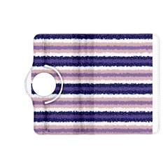 Horizontal Native American Curly Stripes - 2 Kindle Fire HD (2013) Flip 360 Case