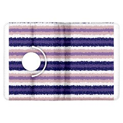 Horizontal Native American Curly Stripes - 2 Kindle Fire HDX Flip 360 Case