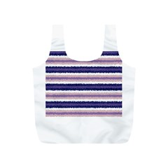 Horizontal Native American Curly Stripes - 2 Reusable Bag (S)