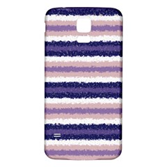 Horizontal Native American Curly Stripes - 2 Samsung Galaxy S5 Back Case (White)