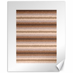 Horizontal Native American Curly Stripes - 3 Canvas 16  x 20  (Unframed)
