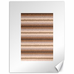 Horizontal Native American Curly Stripes - 3 Canvas 18  x 24  (Unframed)