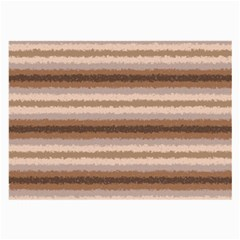 Horizontal Native American Curly Stripes - 3 Glasses Cloth (Large, Two Sided)