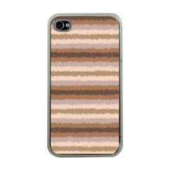 Horizontal Native American Curly Stripes   3 Apple Iphone 4 Case (clear)