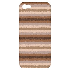 Horizontal Native American Curly Stripes   3 Apple Iphone 5 Hardshell Case