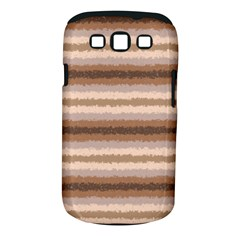 Horizontal Native American Curly Stripes   3 Samsung Galaxy S Iii Classic Hardshell Case (pc+silicone)