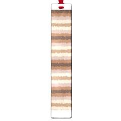 Horizontal Native American Curly Stripes - 3 Large Bookmark