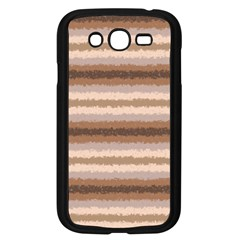 Horizontal Native American Curly Stripes - 3 Samsung Galaxy Grand DUOS I9082 Case (Black)