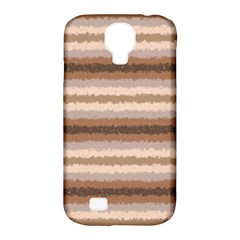 Horizontal Native American Curly Stripes   3 Samsung Galaxy S4 Classic Hardshell Case (pc+silicone)