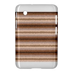 Horizontal Native American Curly Stripes   3 Samsung Galaxy Tab 2 (7 ) P3100 Hardshell Case