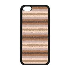 Horizontal Native American Curly Stripes - 3 Apple iPhone 5C Seamless Case (Black)