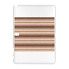 Horizontal Native American Curly Stripes - 3 Samsung Galaxy Note 10.1 (P600) Hardshell Case