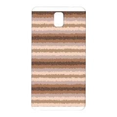 Horizontal Native American Curly Stripes - 3 Samsung Galaxy Note 3 N9005 Hardshell Back Case