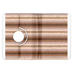 Horizontal Native American Curly Stripes - 3 Kindle Fire HDX Flip 360 Case