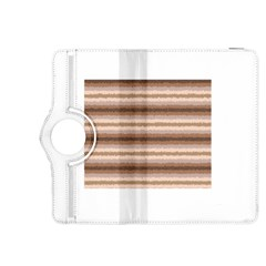 Horizontal Native American Curly Stripes - 3 Kindle Fire HDX 8.9  Flip 360 Case