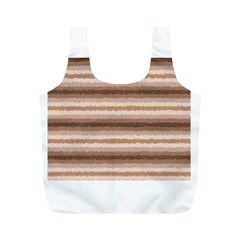 Horizontal Native American Curly Stripes - 3 Reusable Bag (M)