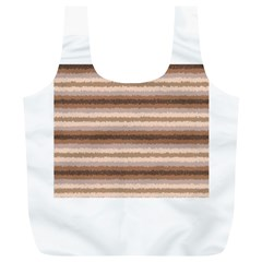 Horizontal Native American Curly Stripes - 3 Reusable Bag (XL)