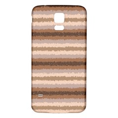 Horizontal Native American Curly Stripes - 3 Samsung Galaxy S5 Back Case (White)