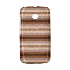 Horizontal Native American Curly Stripes - 3 Motorola Moto E Hardshell Case
