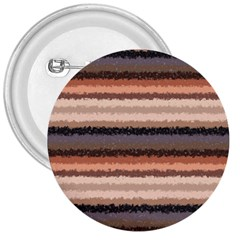 Horizontal Native American Curly Stripes   4 3  Button