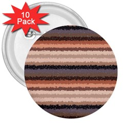 Horizontal Native American Curly Stripes   4 3  Button (10 Pack)