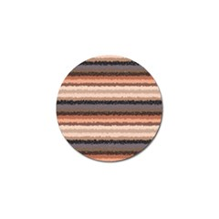 Horizontal Native American Curly Stripes   4 Golf Ball Marker 4 Pack